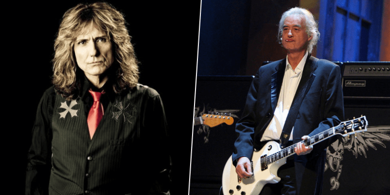 jimmy page david coverdale - WHITESNAKE's David Coverdale Announces Collaboration With LED ZEPPELIN's Jimmy Page