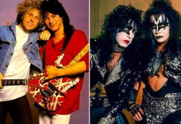 van halen and kiss - Paul Stanley Addresses Gene Simmons' Claims That Eddie Van Halen Wanted to Quit VAN HALEN To Join KISS