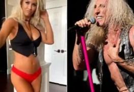 dee snider and bikini model - DEE SNIDER Reacts To The Sexy Birthday Video Of His Bikini Model Fan
