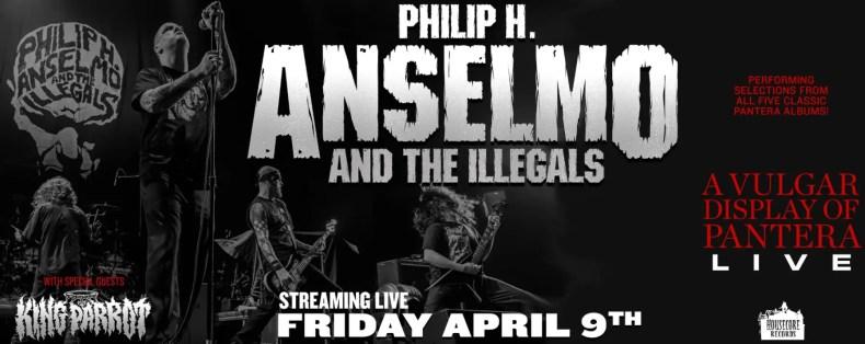 """Pantera Phil - GIG REVIEW: PHIL ANSELMO & THE ILLEGALS - """"A Vulgar Display of Pantera"""""""
