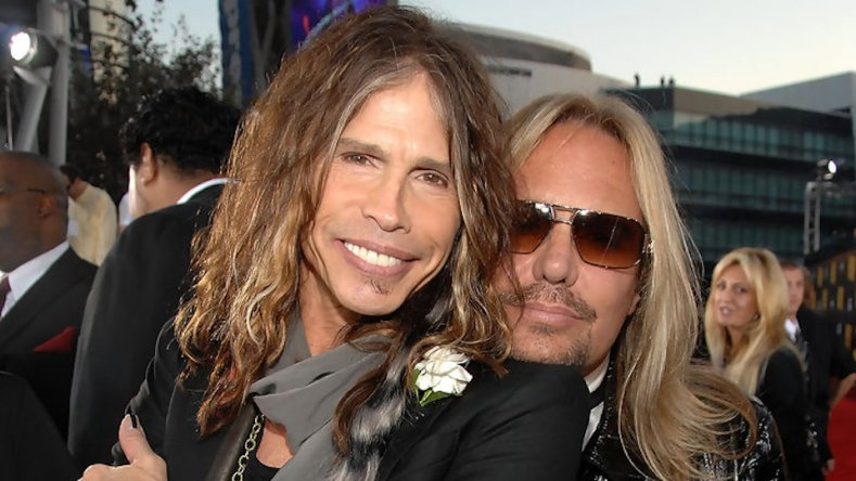 tyler neil - Here's How STEVEN TYLER Inspired By VINCE NEIL While Writing 'Dude (Looks Like A Lady)