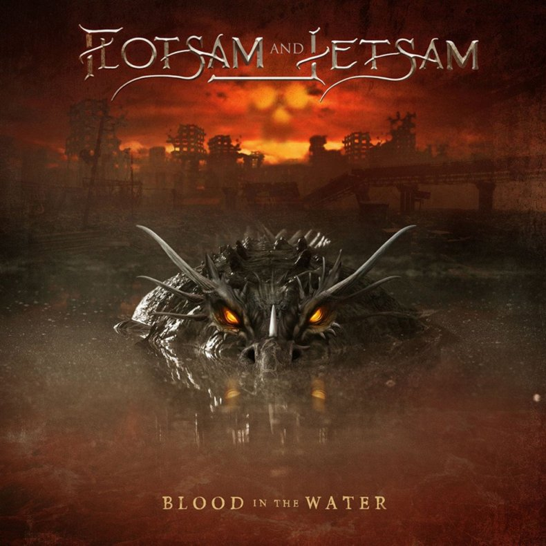 """Blood Water - REVIEW: FLOTSAM AND JETSAM - """"Blood In The Water"""""""