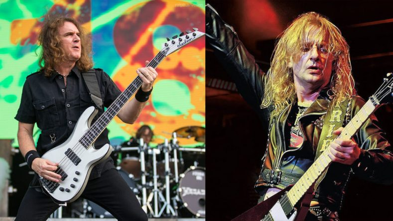 david ellefson kk downing - KK Downing Wishes DAVID ELLEFSON Well After Being Fired From MEGADETH