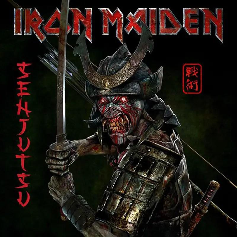 Iron Maiden Senjutsu - IRON MAIDEN Announces Double Album 'Senjutsu'; Reveals Tracklist & Album Cover Art