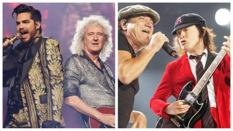 QueenAcDc - QUEEN, METALLICA, AC/DC Make Billboard's List Of Highest-Paid Musicians Of 2020