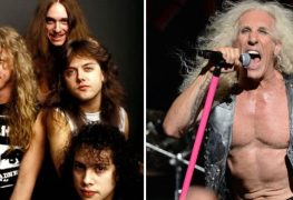 metallica dee snider - DEE SNIDER: Dave Mustaine Is A Better Guitarist Than James Hetfield, Who 'Couldn't Even Play Guitar'