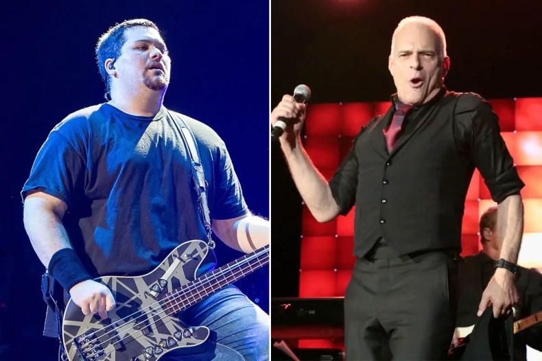 wolfgang van halen david lee roth stage - Wolfgang Van Halen Reacts To DAVID LEE ROTH's Retirement