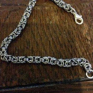 Custom Micro - Byzantine Bracelet