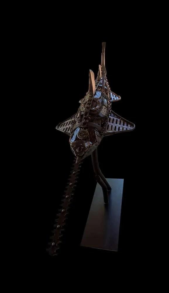 Sculpture Sawfish