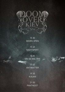 Doom Over Kyiv 2015 poster