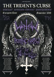 Watain Rotting Chist Tour