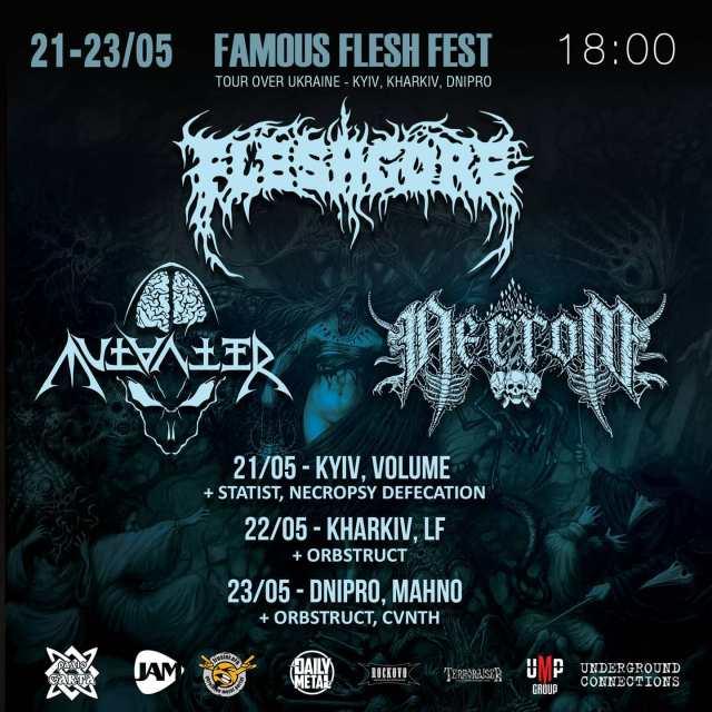 Famous Flesh Tour