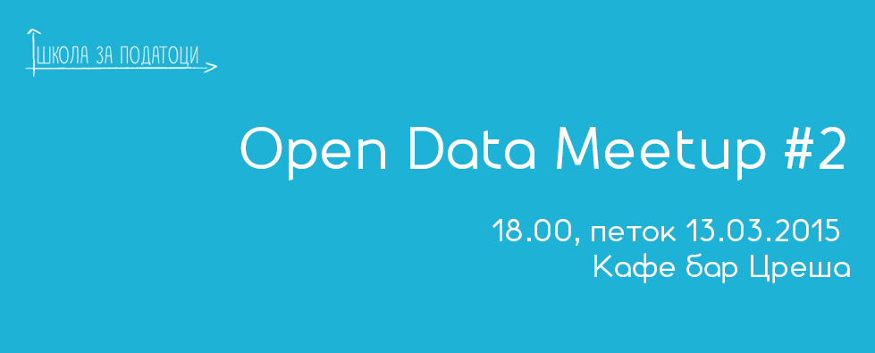 Open data meetup 13.05.2015