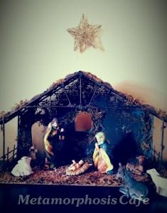 Christmas manger