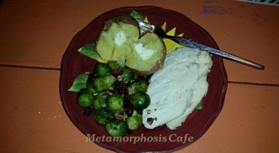 chicken brussel sprout supper