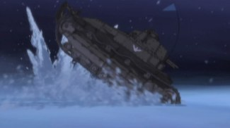 Girls und Panzer 09 Flag Tank (2)