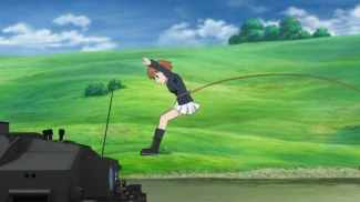 Girls und Panzer 11 Miho Flies (4)