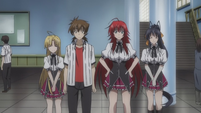 Never see this look from Rias