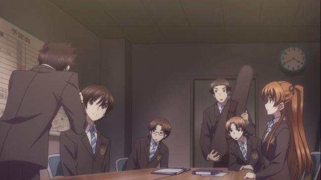 Haruki says the wrong thing