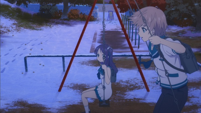 Kaname and Chii