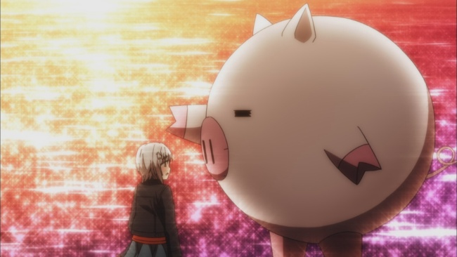 Kanade comforts Furano
