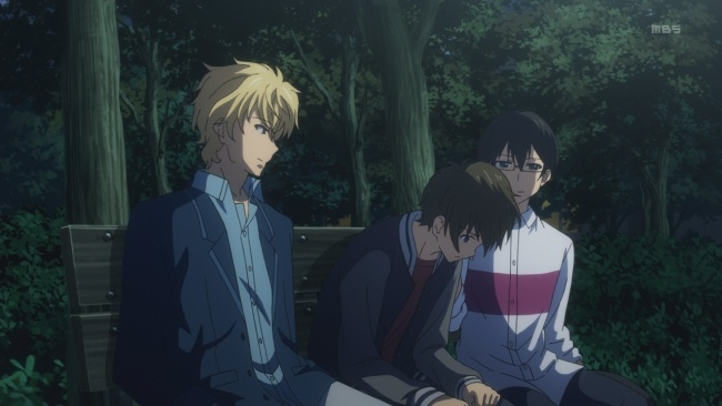 Golden Time-Help from Mitsuo and 2D-kun