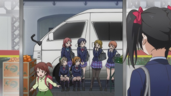 Love Live-Not good spies