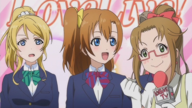 Love Live-Honoka opens her big mouth