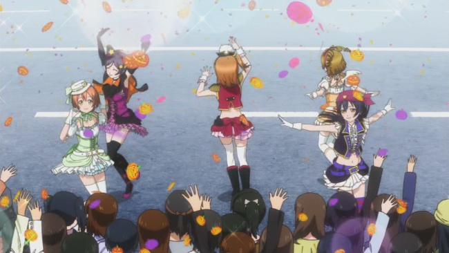 Love Live-crowd interaction