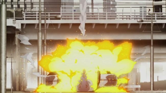 Aldnoah 01 - Missile Hits Princess
