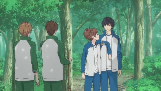 Ao Haru Ride-A loving embrace