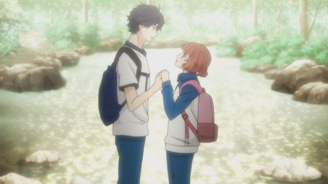 Ao Haru Ride-Falling for Kou