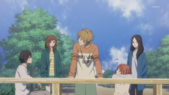 Ao Haru Ride-More of a cohesive group