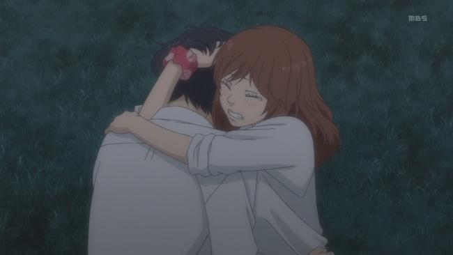 Ao Haru Ride-A strong embrace