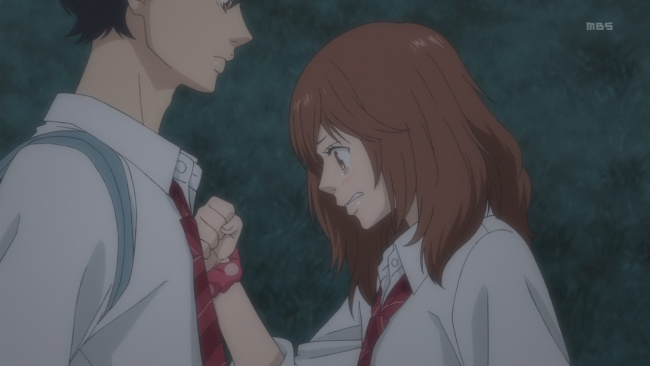 Ao Haru Ride-Breaking down the door