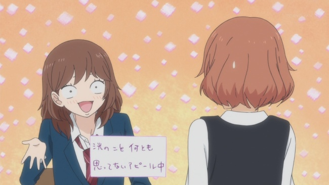 Ao Haru Ride Silly Faces-Overdoing it