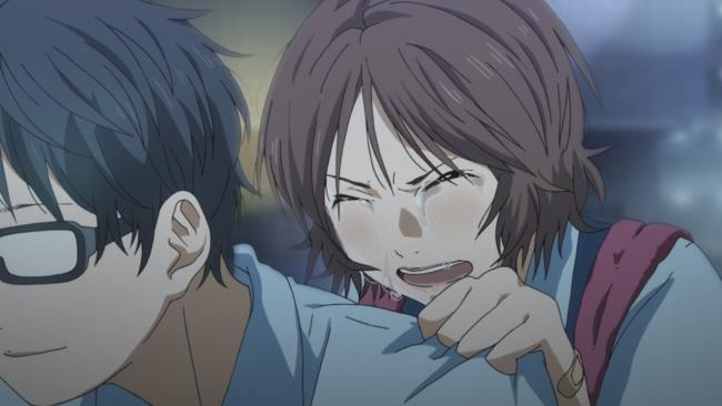 Shigatsu wa Kimi no Uso-Crying