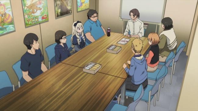 Shirobako-The Meeting to decide