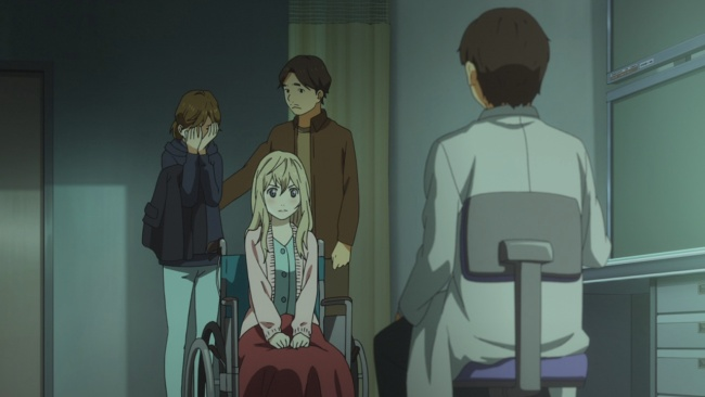 Shigatsu wa Kimi no Uso-Parents