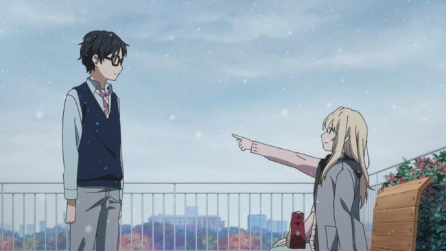 Shigatsu wa Kimi no Uso-feelings getting across