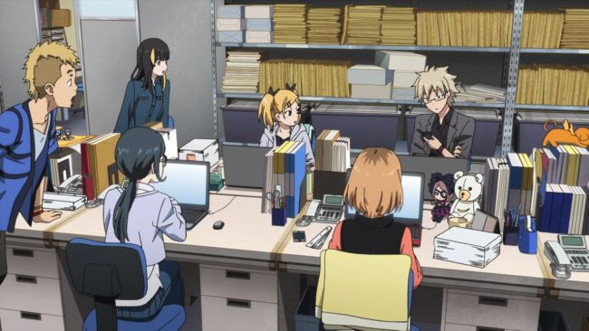 Shirobako - Hiraoka helps out
