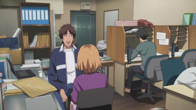 Shirobako-Talking with Isokawa