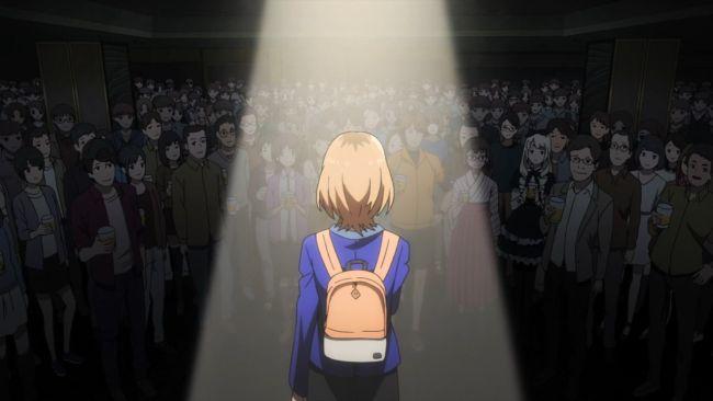 Shirobako - looking out at everyone