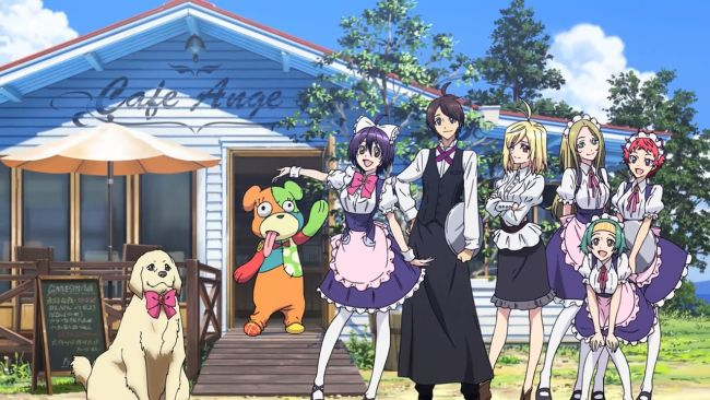 Cross Ange - a cafe