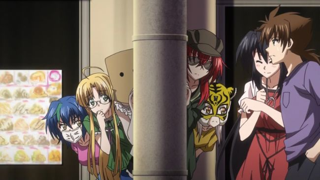 DxD BorN - Terrible disguises