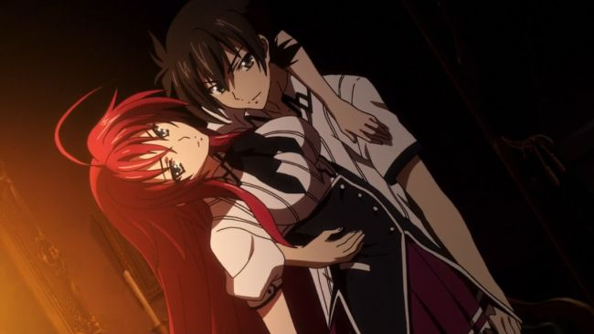 DxD BorN - Going with the bad boy