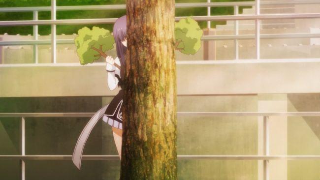 Rakudai Kishi - bad at hiding