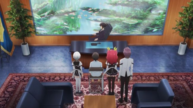 Rakudai Kishi - the boss gets the best room