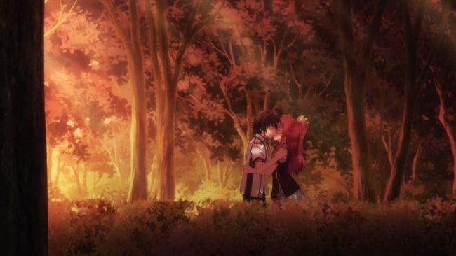 Rakudai Kishi - The kiss we finally see