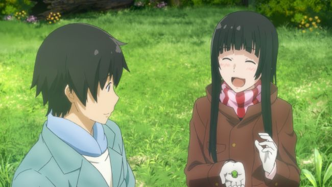 Flying Witch - Happy Makoto